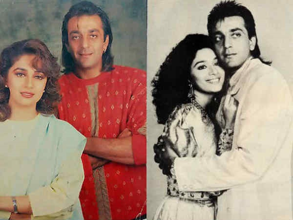 When Everyone Stopped Madhuri Dixit To Work With Rumoured Ex Sanjay Dutt But She Didn't Listen!