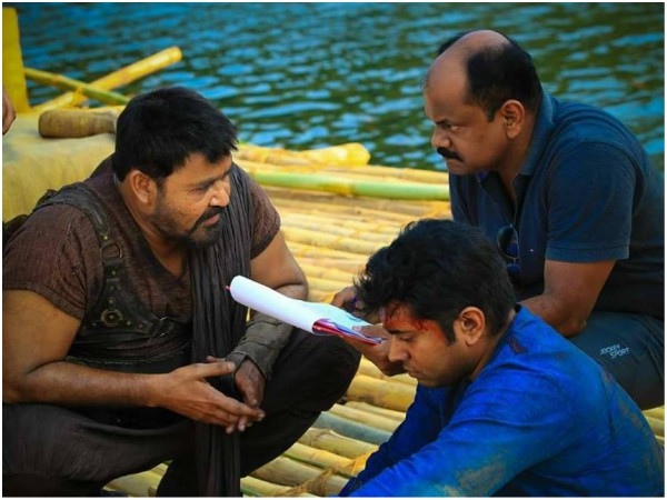 Mohanlal & Nivin Pauly Together