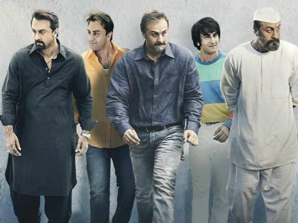 Ranbir Kapoor's Uncanny Resemblance With Sanjay Dutt Is Shocking — Sanju' Poster