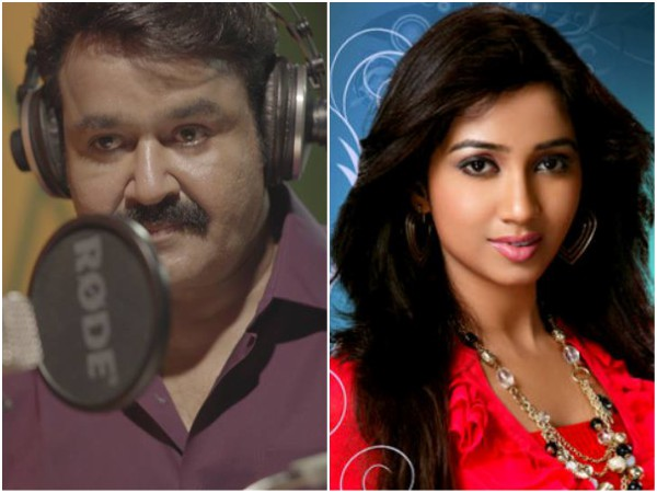 Mohanlal's Song For Neerali: Here's What Shreya Ghoshal Has To Say!