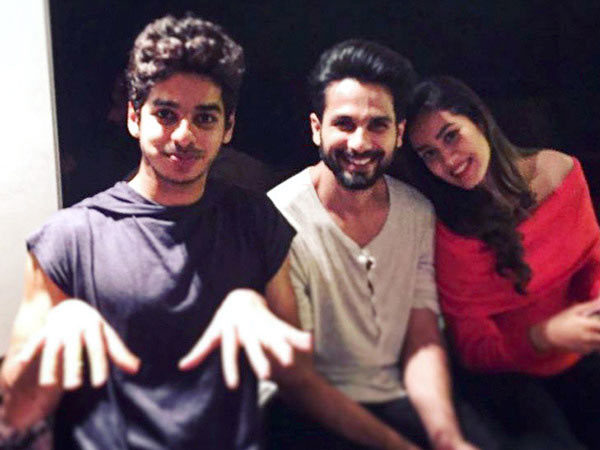 WOW! Brothers Shahid Kapoor & Ishaan Khatter To Star In A Movie Together? Read Details