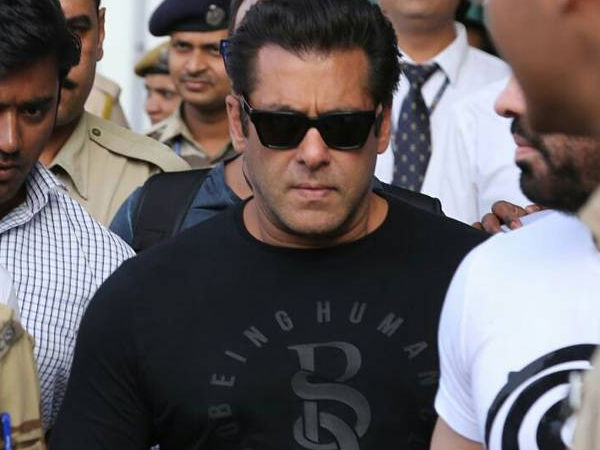 Salman Had A BP Issue When He Entered Jail