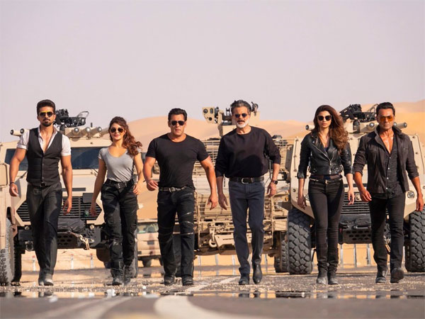 The Entire Cast Of Race 3 Shot Amidst High Military & Security In Abu Dhabi