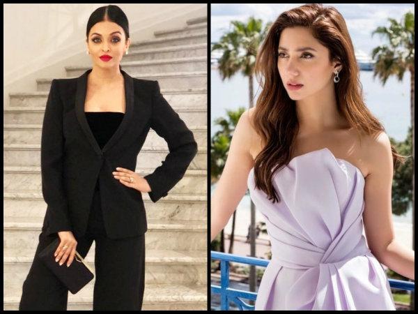 What Happened When Aishwarya Rai Bachchan Bumped Into Mahira Khan At Cannes
