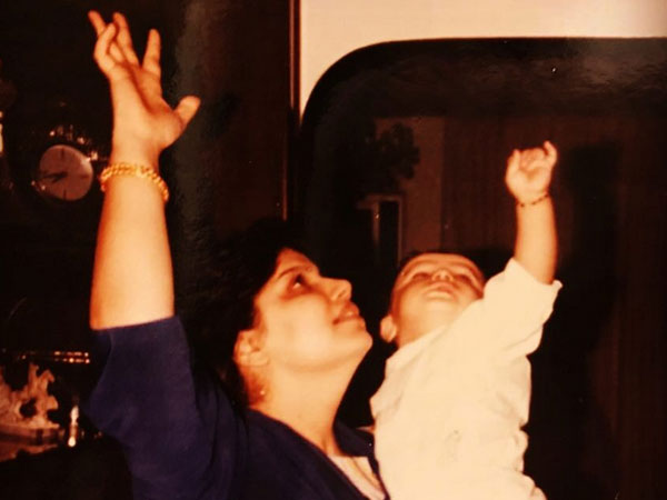 Arjun Kapoor Shares A Throwback Pic With His Mom