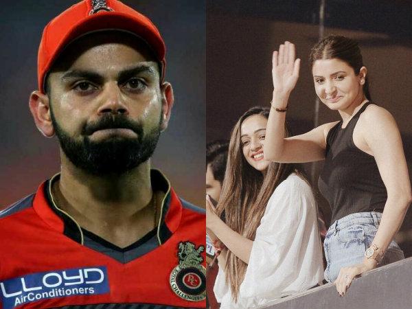 Anushka Sharma Is The Reason Why RCB & Virat Kohli Are Not Doing Well, Say Trolls!