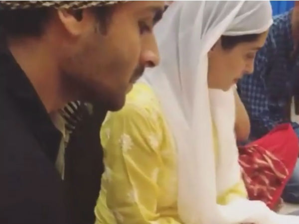 Dipika & Shoaib Celebrate Their First Iftar, Post Marriage
