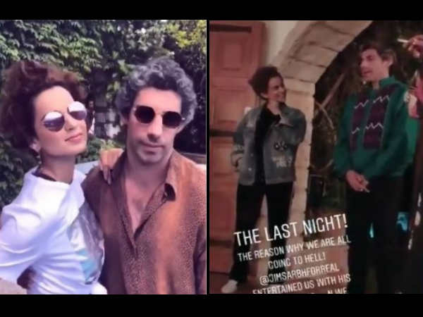 Jim Sarbh- Kangana Ranaut Get SLAMMED For Cracking A Rape Joke At Cannes, Actor Reveals The Truth!