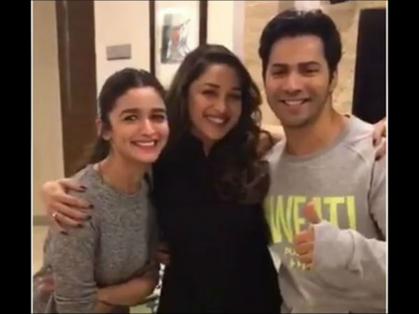 Madhuri To Play A Dancing Prowess In Kalank