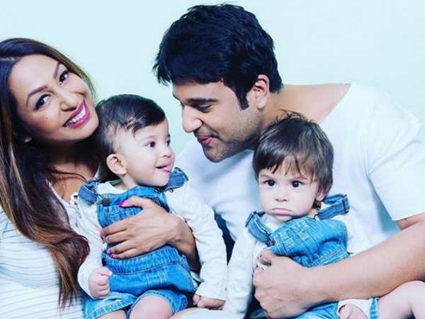 Krushna & Kashmira's Adorable Twins