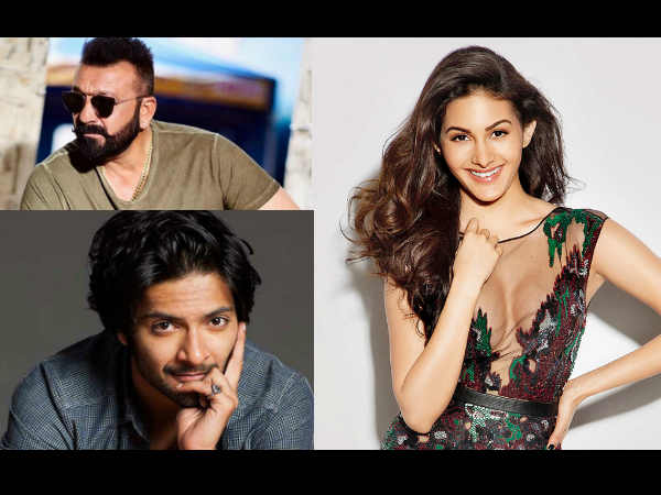 Here's What Sanjay Dutt, Ali Fazal & Amyra Dastur Are Playing In This Film