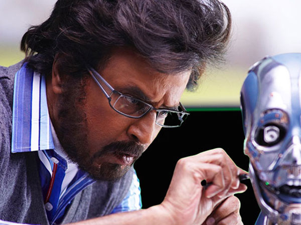 Rajini in Enthiran