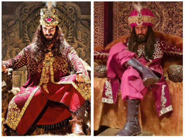 Ravi's Make-up Was Done By Same Artist Who Did Ranveer's Make-up For Padmaavat