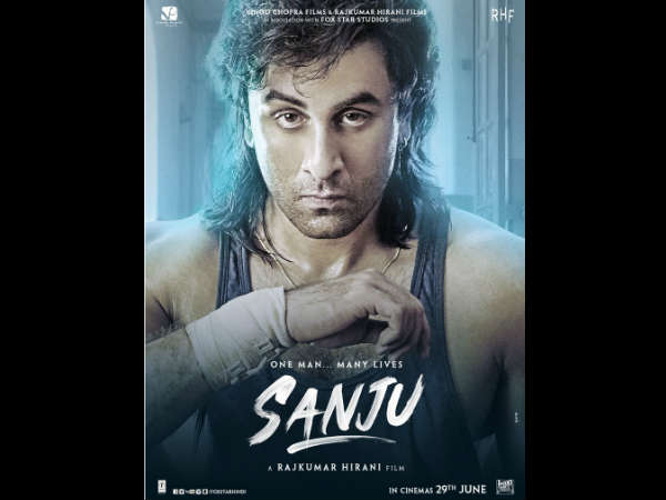 Ranbir Kapoor holds 'Sanju's iconic frame from 90's in its new poster
