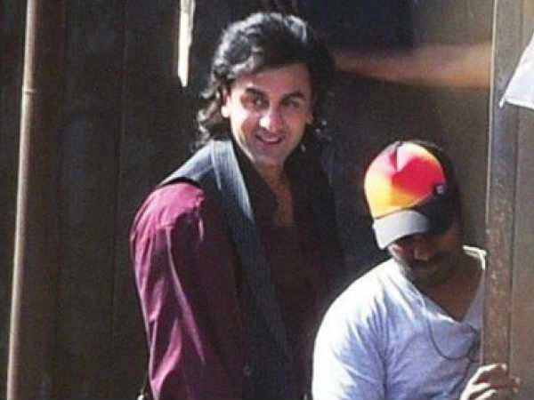 Rajkumar Hirani releases Ranbir's new look from 'Sanju'