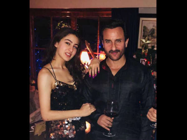How A 'Worried' Saif Ali Khan Helped Sara Ali Khan In Bagging Rohit Shetty- Karan Johar's Simmba!