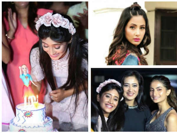 Shivangi Joshi's Birthday Party: Was Hina Khan Invited? Why Was Shweta Tiwari's Husband Missing?