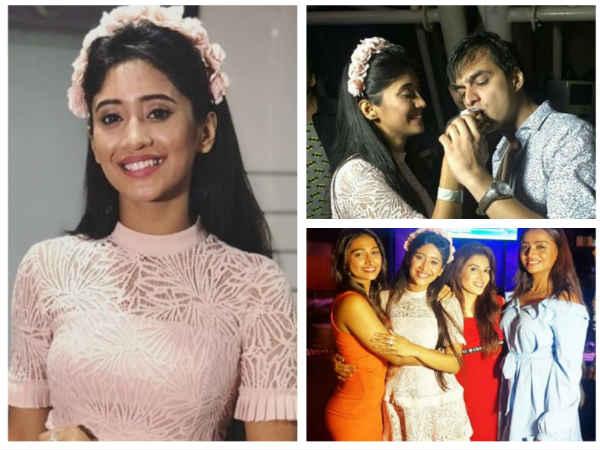 Yeh Rishta Kya Kehlata Hai's Shivangi Joshi Had A Blast On Her Birthday With Mohsin Khan & Team