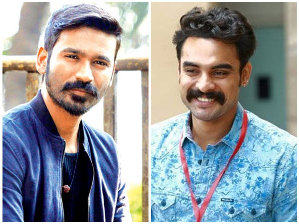 Dhanush and Tovino