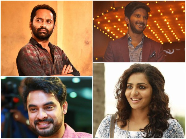 20th Asianet Film Awards: Fahadh Faasil & Parvathy Bag The Top Honours!