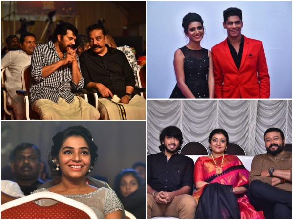 Asianet Film Awards 2018 Photos: Mammootty, Kamal Haasan, Dulquer Salmaan & Others Attend The Event!