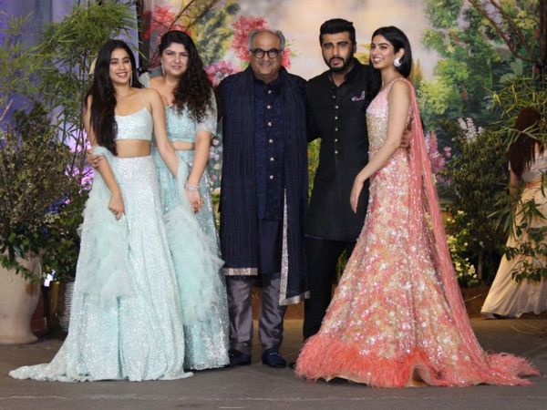 Boney Kapoor Joins His Kids