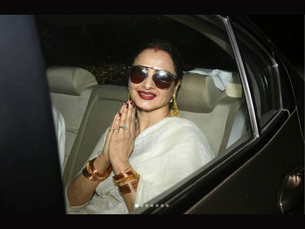 In Pic: Rekha At Screening Of 102 Not Out