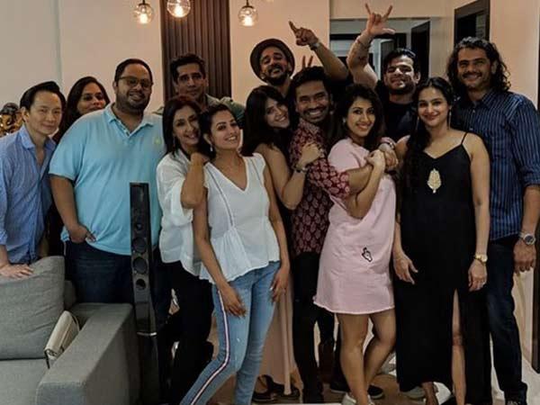 Yeh Hai Mohabbatein Fame Anita Hassanandani's Housewarming Party: Ankita Flaunts Her Baby Bump