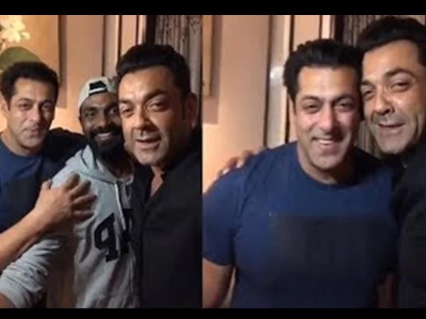 Bobby Is Glad To Have Found A Strong Support In Salman