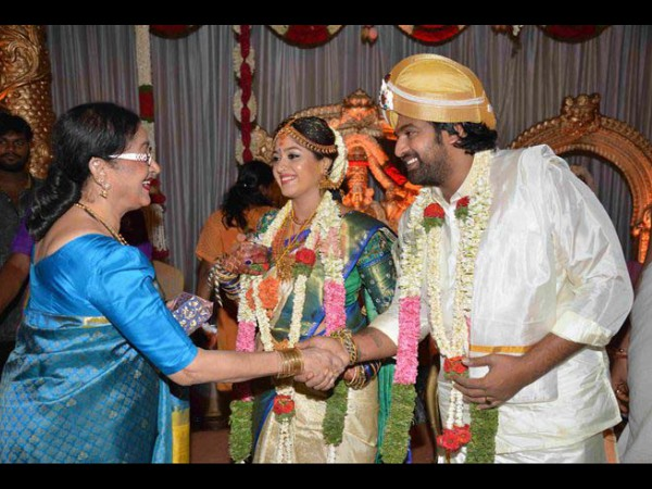 Chiranjeevi Sarja-Meghana Raj's marriage