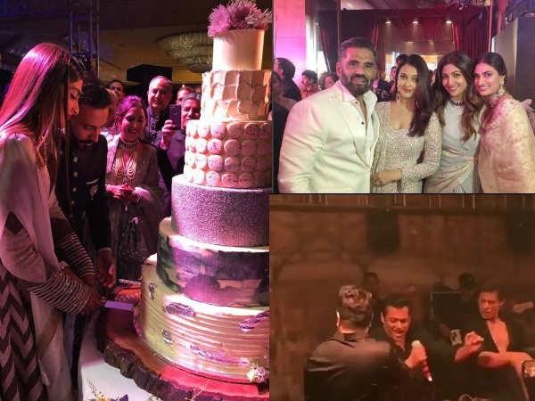 Sonam Kapoor's Wedding Reception: A Huge Cake, Aishwarya's 'Buntsangha' & SRK-Salman's Dance!
