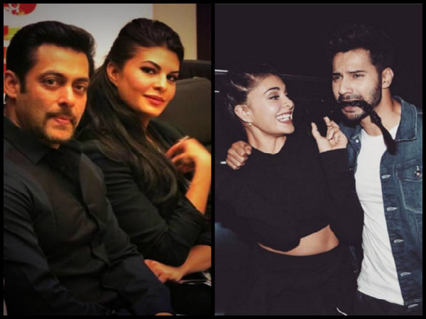 Jacqueline Fernandez's Salman Khan-Varun Dhawan Connection