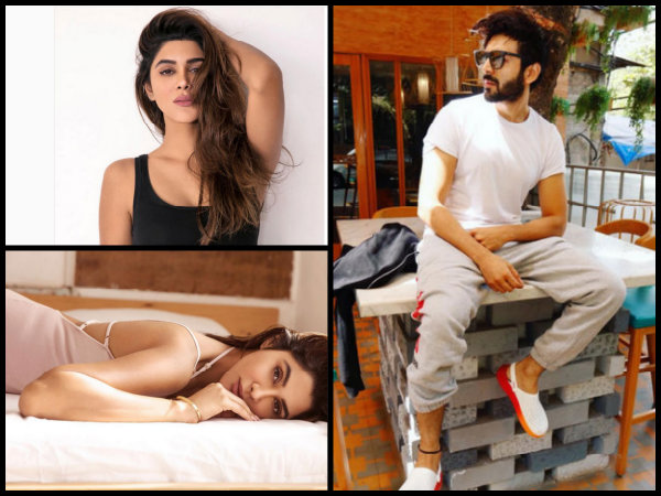 Kartik Aaryan Isn't A 'Sakht Launda' In Real Life & His Pics With Girlfriend Dimple Sharma Are Proof
