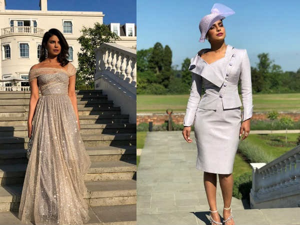 Priyanka Chopra Looks Magical At Prince Harry-Meghan Markle's Wedding & The After Party! [PICS]