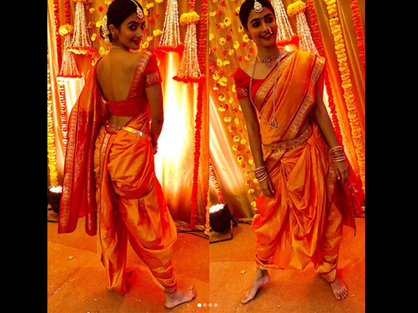 Pooja Hegde Looks A Million Bucks In A Traditional Maharashtrian Get-up