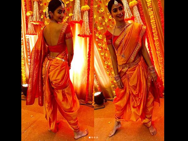 Pooja Hegde Looks A Million Bucks In A Traditional Maharashtrian Get-up