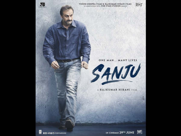 Ranbir Kapoor as Sanju, New Poster