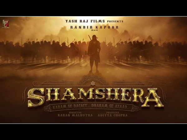 The Makers Dropped The First Look Of Shamshera