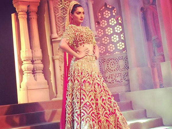 Sonam On Her Groom's Wedding Outfit