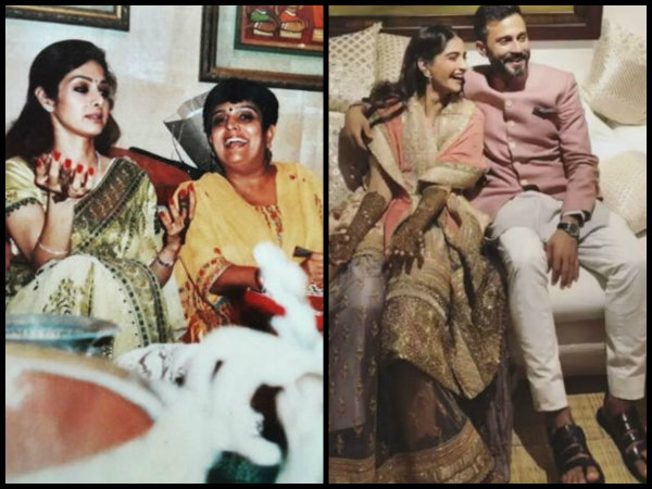 Sridevi Was Missed IMMENSELY By Janhvi At Sonam Kapoor's 'Mehendi' Because Of This Special Reason!