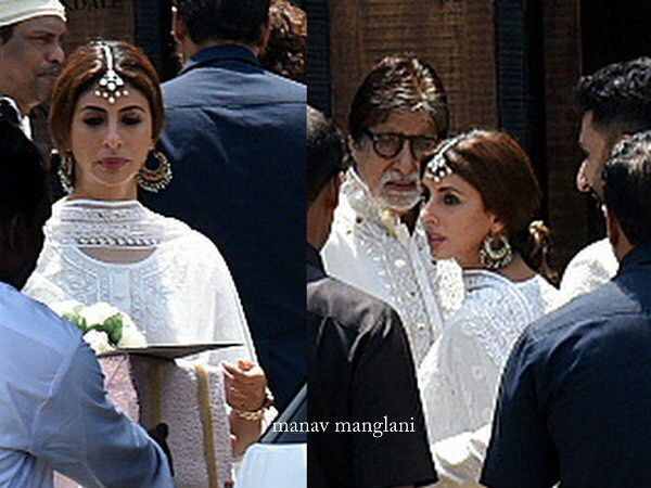 Bachchans Arrive At The Do