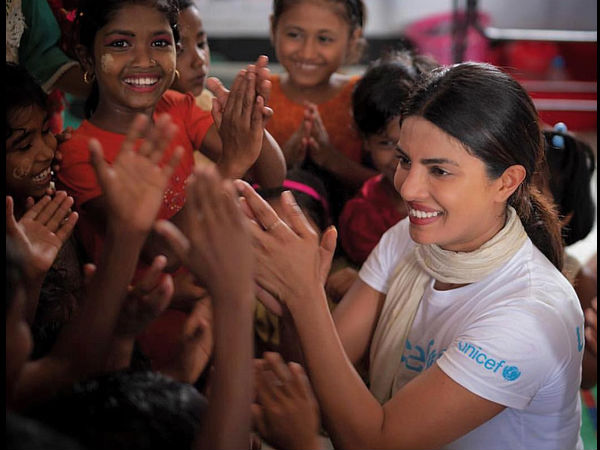 Priyanka Chopra Meets Rohingya Refugees In Bangladesh, Calls On PM Hasina