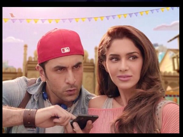 Dimple With Ranbir Kapoor