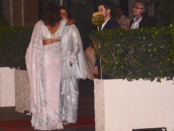 Priyanka Arrived With Nick Jonas