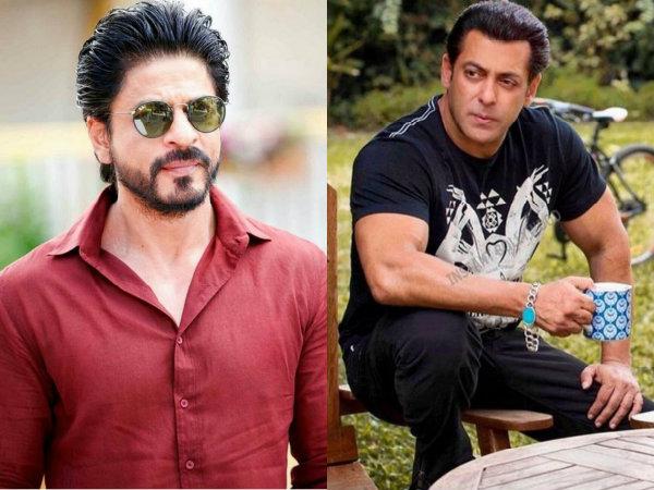 A Netizen Tried To Create A Rift Between Salman Khan & Shahrukh Khan; Here's How SRK Reacted!