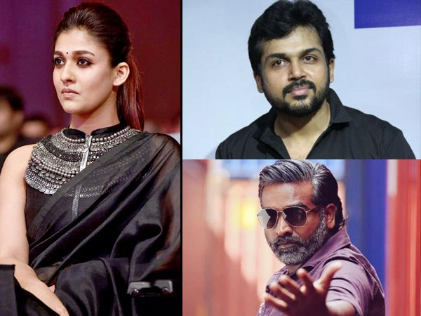 Nayanthara and Vijay Sethupathi Skip 65th Filmfare Awards