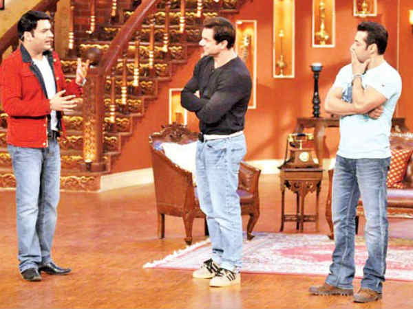 Kapil Is Doing A Movie With Salman & Sohail!