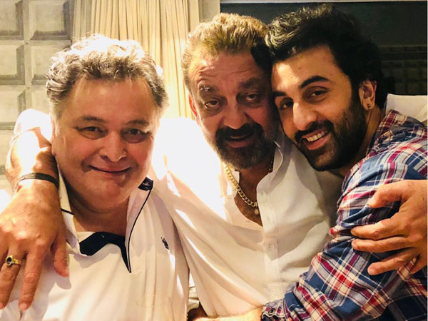 Rishi Kapoor Welcomed Sanjay Dutt To His House