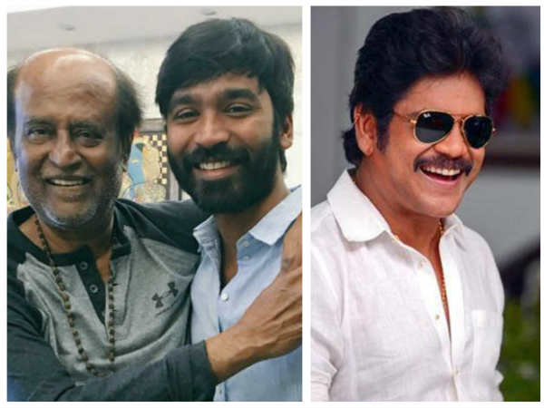 Nagarjuna Replaces Rajinikanth In Dhanushs Next Directorial Venture?
