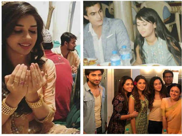 Iftaar Parties On Naagin 3, Yeh Rishta Kya Kehlata Hai, Yeh Hai Mohabbatein & Other TV Shows' Sets